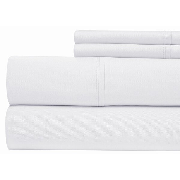 400 Thread Count 100% Pima Cotton Sheet Set by Aspire Linens